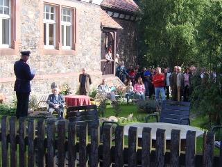 Alte Schule Meßbach - 100-Jahr-Feier am 15.10.2005