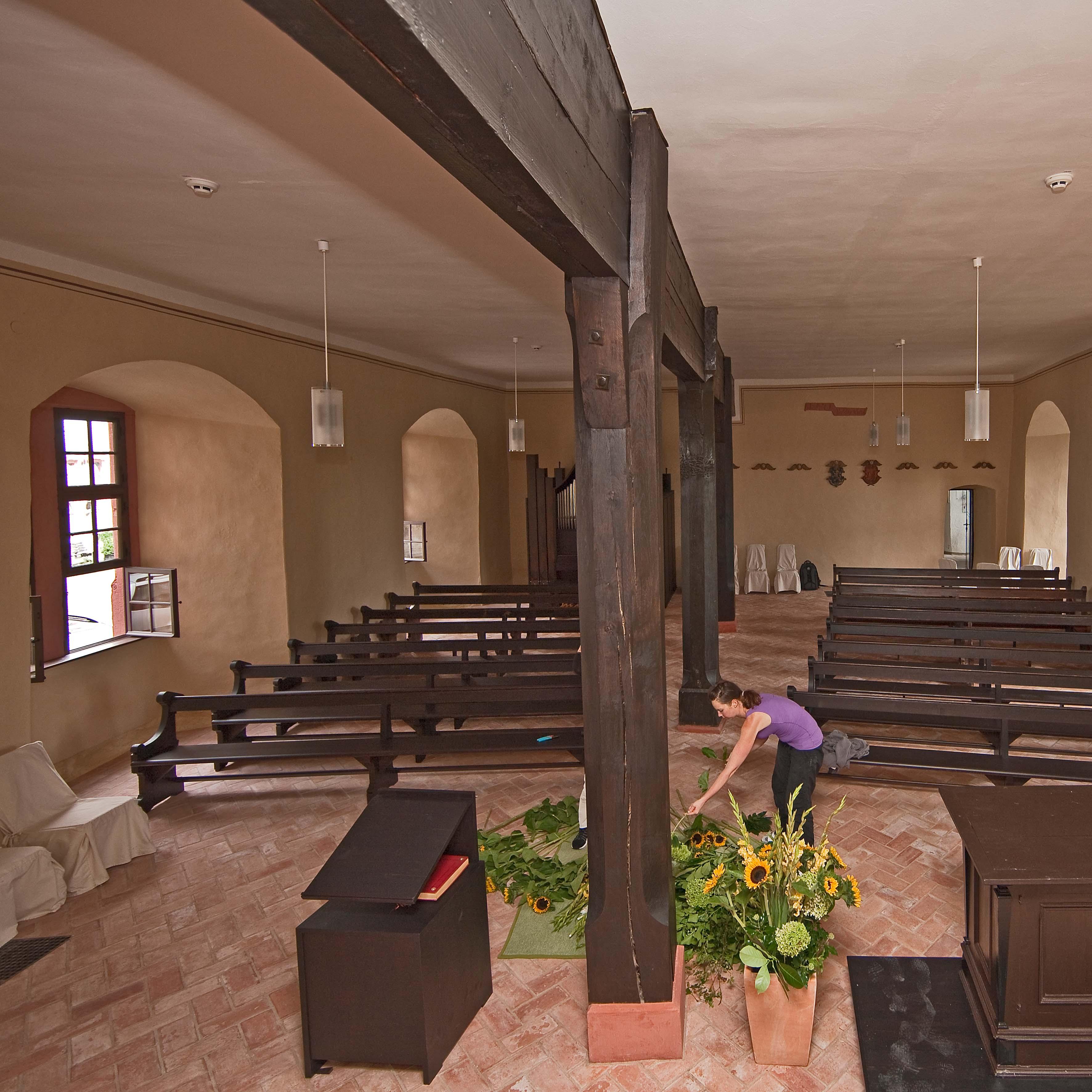 Schlosskapelle (Bild: S. Kühn)