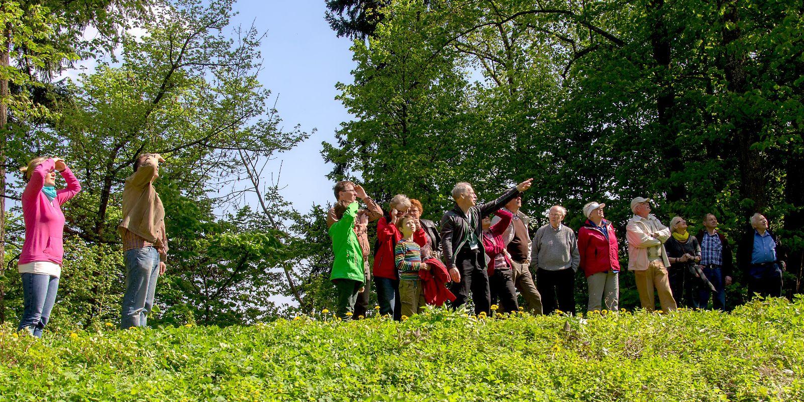 Die Fischbachtaler Geopark-vor-Ort-Begleiter bieten Führungen an (Foto: Bernd Scheider)
