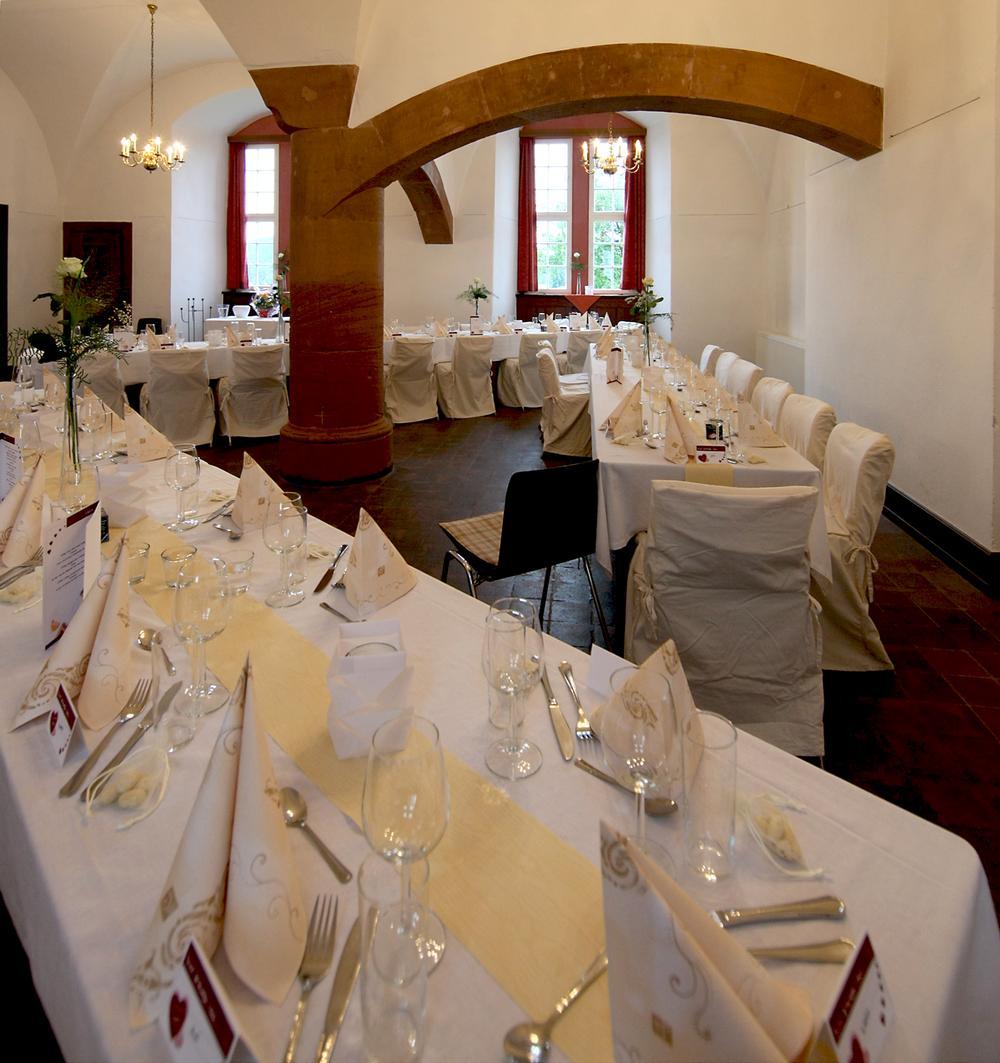 Gewölbesaal im Schloss Lichtenberg