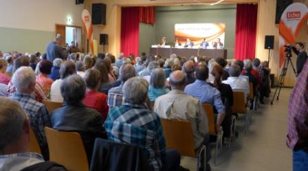 Podiumsdiskussion im Bürgerhaus Niedernhausen