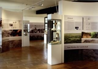 Ausstellung über die Geschichte der Landwirtschaft im Geopark-Eingangstor Museum Schloss Lichtenberg - Foto Bernd Scheider