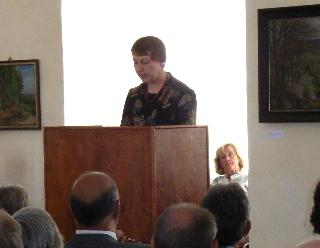 Einführungsvortrag der Kunsthistorikerin Dr. Jutta Reisinger-Weber