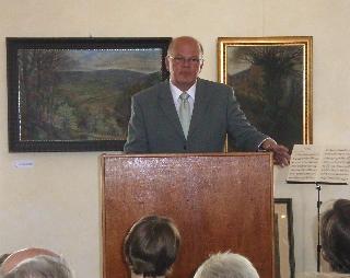 Ansprache von Museumsleiter Winfried Wackerfuß