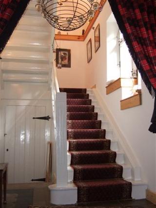 Alte Schule Steinau - das Treppenhaus nach der Sanierung